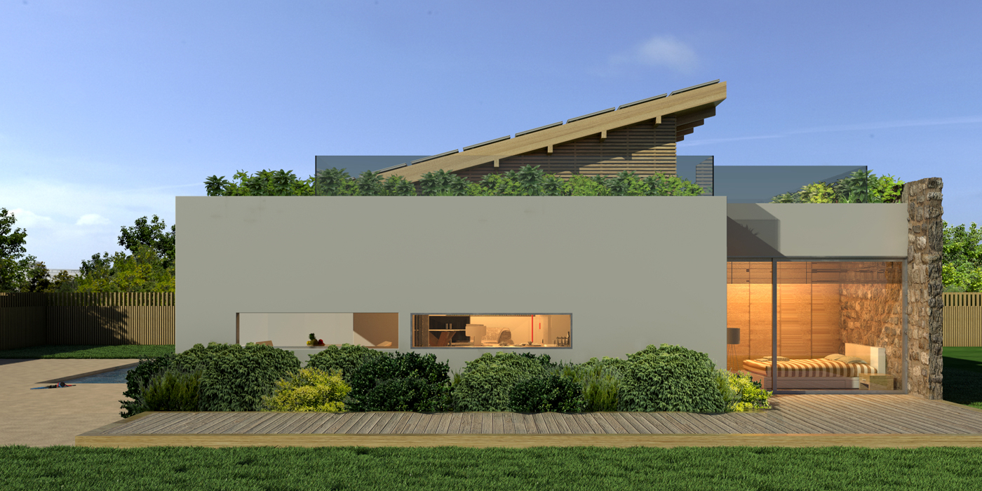 Moderne Villa im mediterranen Stil - Arzumanidis Immobilien ...